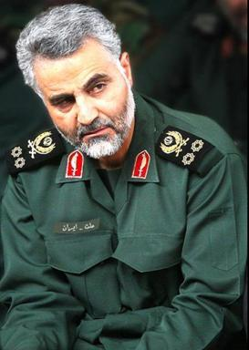 "Qassem Suleimani, the Commander of the IRGC-Qods Force, who is ""running the war"" in Syria."