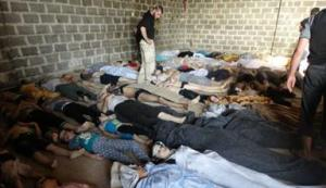 Iran helped develop Syria's chemical weapons program, which has been used to massacre hundreds of Syrian civilians.