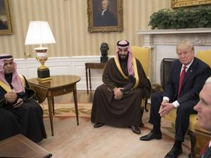 Trump and Saudi Defense Minister: New York Times