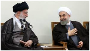 Rouhani has pledged loyalty to Supreme Leader Ayatollah Khamenei, who remains firmly in control of all major policy decisions. (Press TV)