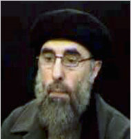 Iran reportedly brokered an arms deal between North Korea and Gulbuddin Hekmatyar (pictured), an Afghan militant leader affiliated with Al Qaeda.