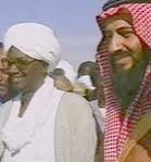 Ties between Iran and Al Qaeda began in the early 1990's when Hasan Al Turabi and Osama Bin Laden (pictured) met in Sudan.
